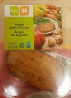 Burgers végétariens - Product