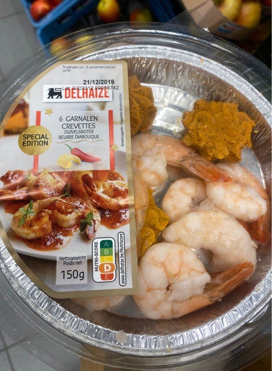 Crevettes Beurre Diabolique - Product