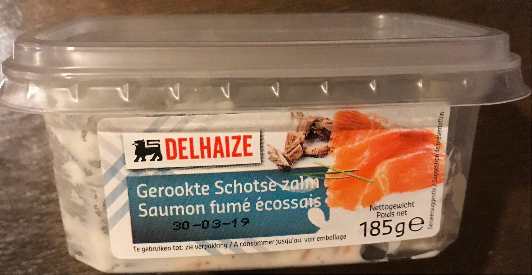 Salade de saumon fumé écossais - Produit