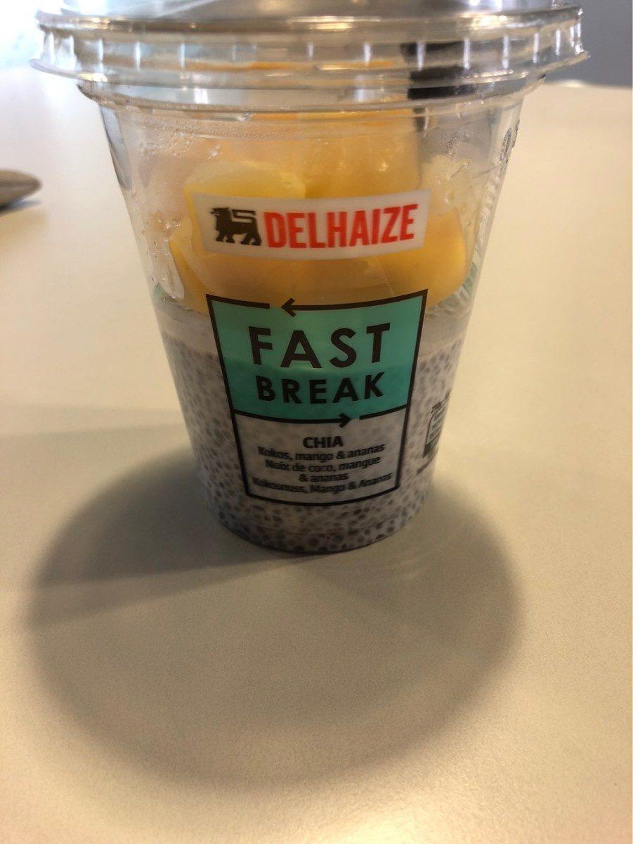 Fast Break Chia Mango Ananas Coconut - Product - fr