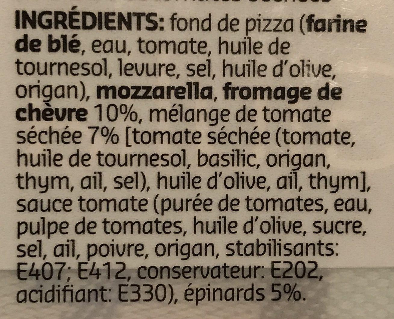 Pizza Giulia - Ingrediënten - fr