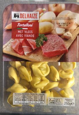 Delhaize tortellini viande - Product - fr
