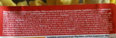 Delhaize tortellini viande - Ingrediënten