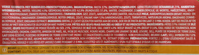 Delhaize tortellini viande - Ingrediënten - fr