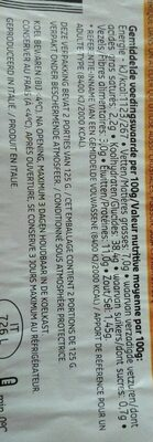 Delhaize tortellini viande - Voedingswaarden - fr