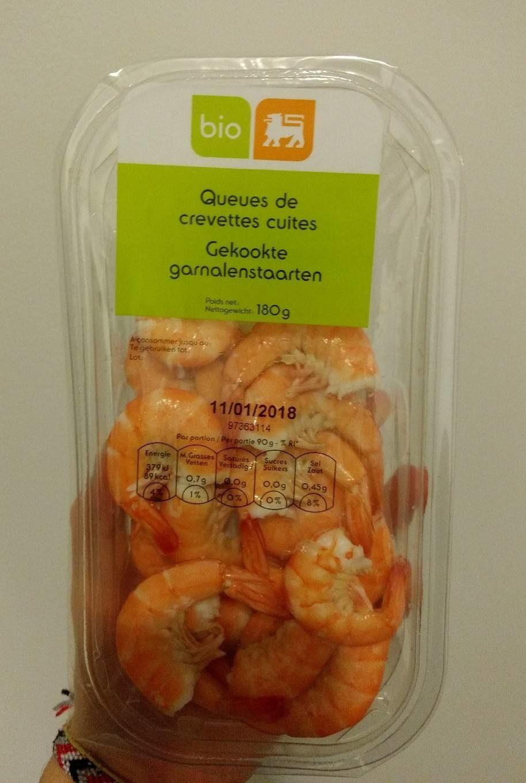 Queues de crevettes cuites - Product - fr
