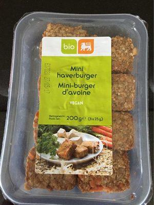 Mini-burger d'avoine - Product