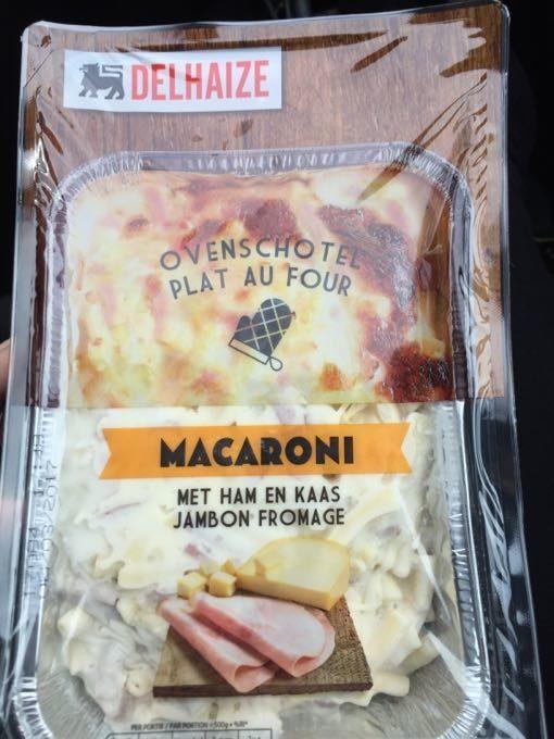 Macaroni Jambon Fromage - Product - fr
