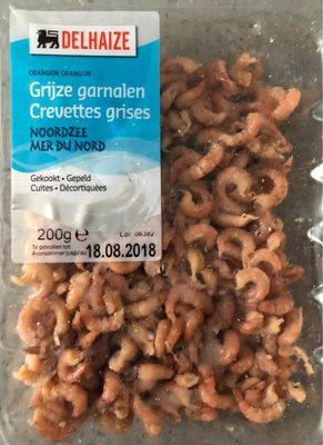 Crevettes grises - cuites, décortiquées - Product - fr