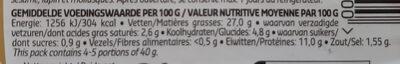 Salade De Poulet Curry - Informations nutritionnelles - fr