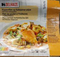 Filet de poulet à l'italienne et pâtes fraiches - Product - fr
