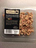 Crevettes grises fraiches belges - Produit - fr