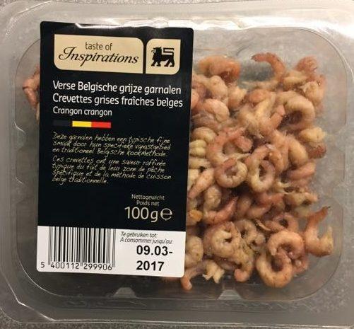 Crevettes grises fraiches belges - Product