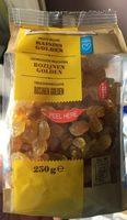 raisin golden fruits séchés - Produit