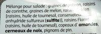 Mélange pour salade - Ingredients - fr
