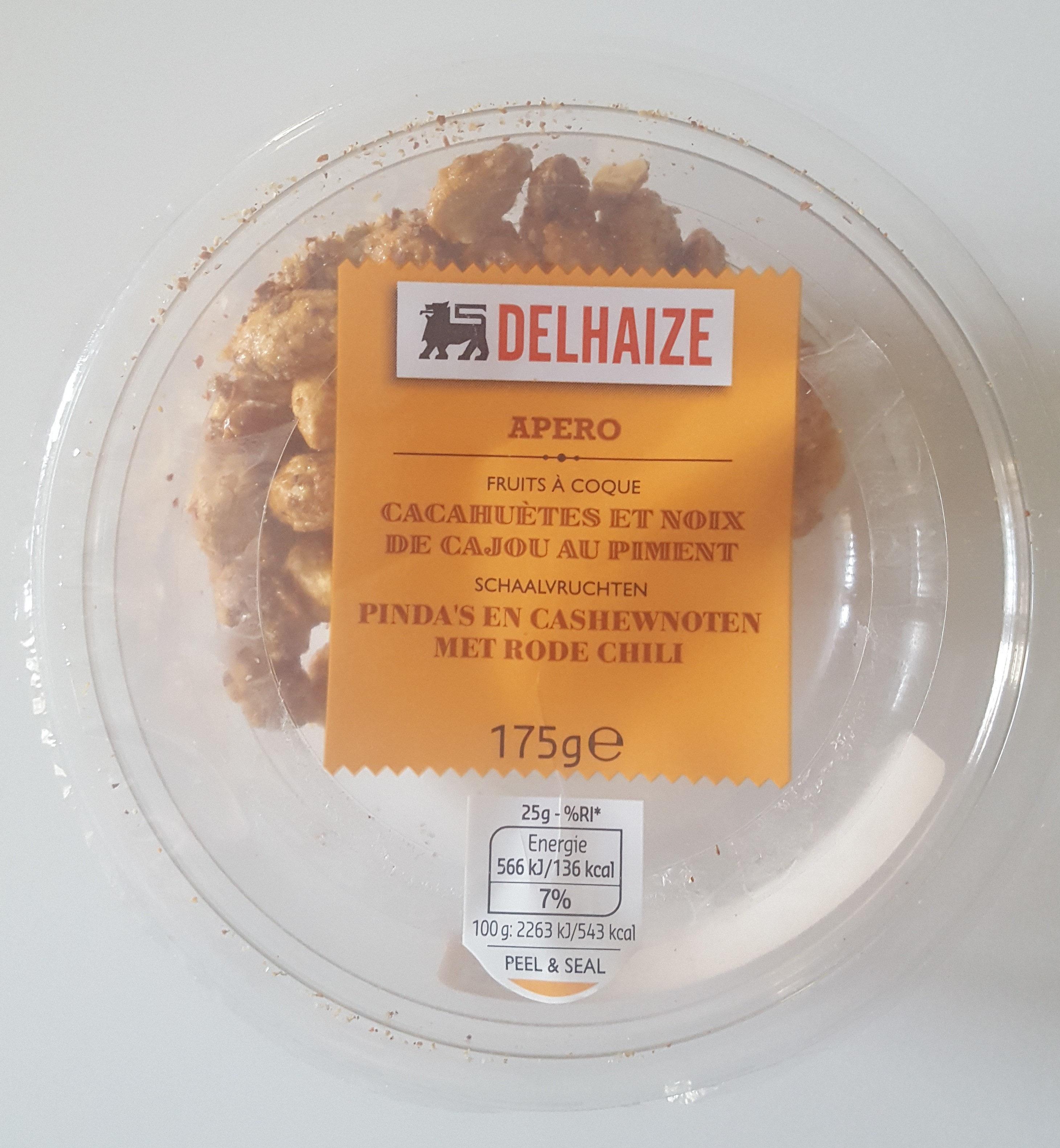 Cacahuètes et noix de cajou au piment - Product - nl