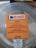 Noix de cajou grillees et salees - Product