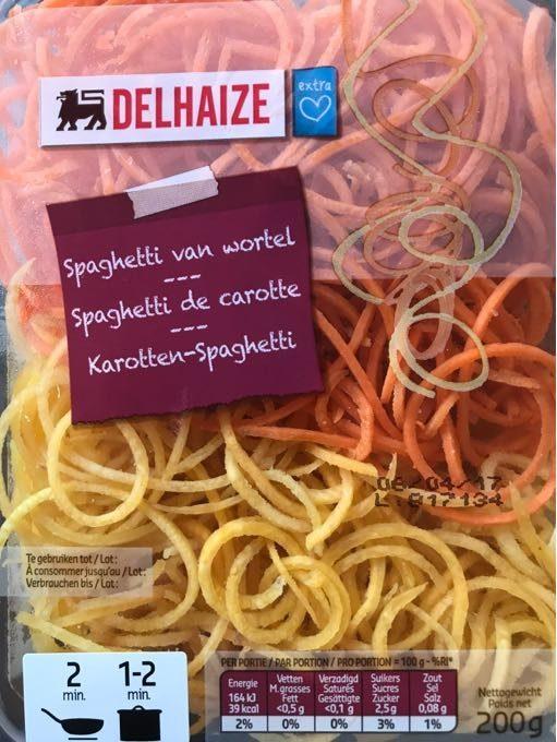 Spaghetti De Carotte - Product - fr