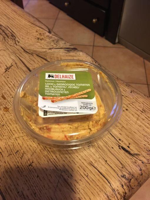 Hummus Ail Et Tomates Sechees - Produit