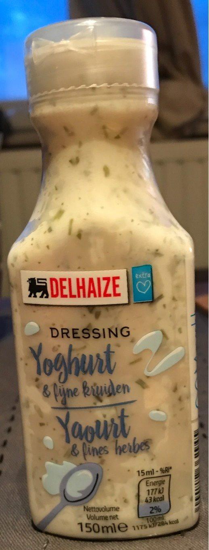 Dressing yoghurt & fines herbes - Product