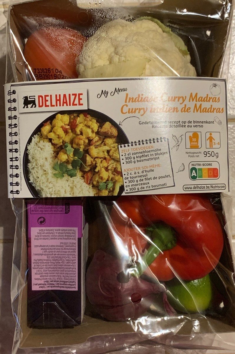 Curry Indien de Madras - Product - fr