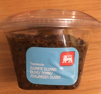 Tapenade olives noires - Produit - fr