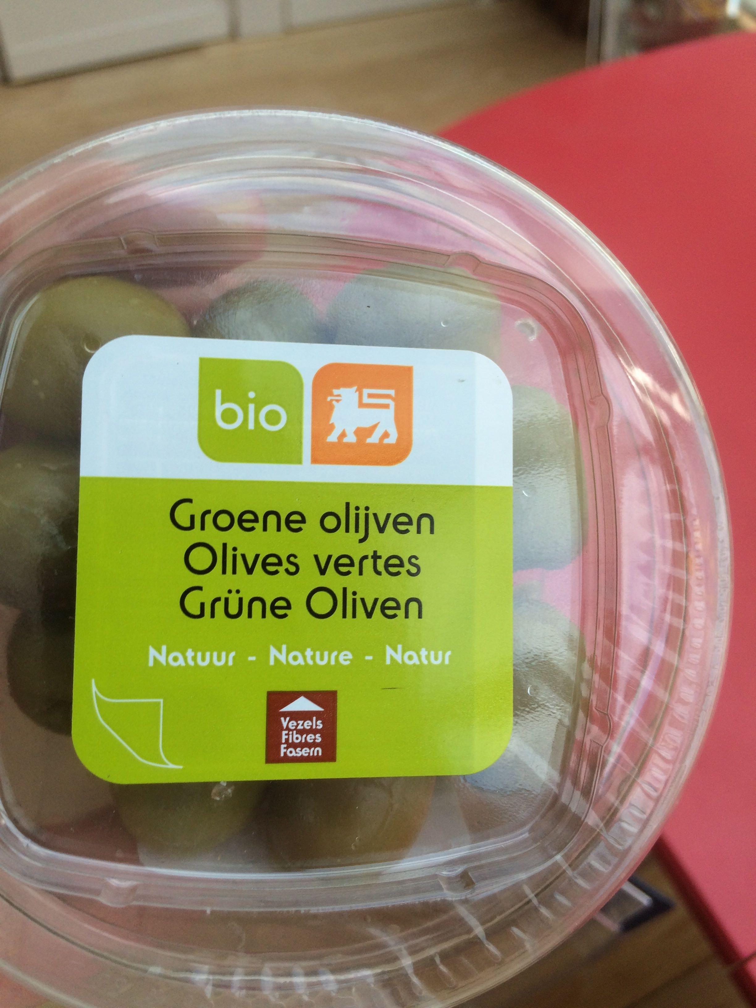 Olives vertes - Product