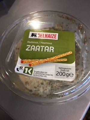 Houmous Zaatar - Product