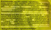 Mini-brioches - Ingrediënten - fr