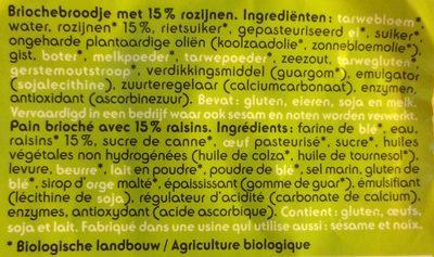 Mini-brioches - Ingrediënten