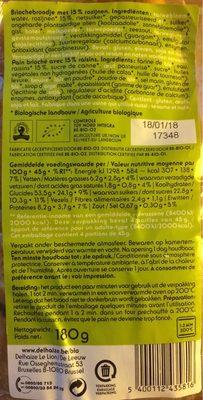 Mini-brioches - Voedingswaarden