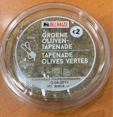 Tapenade Olives Vertes - Product - fr