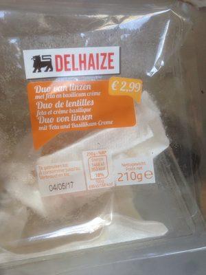 Salade lentilled feta basilic - Product