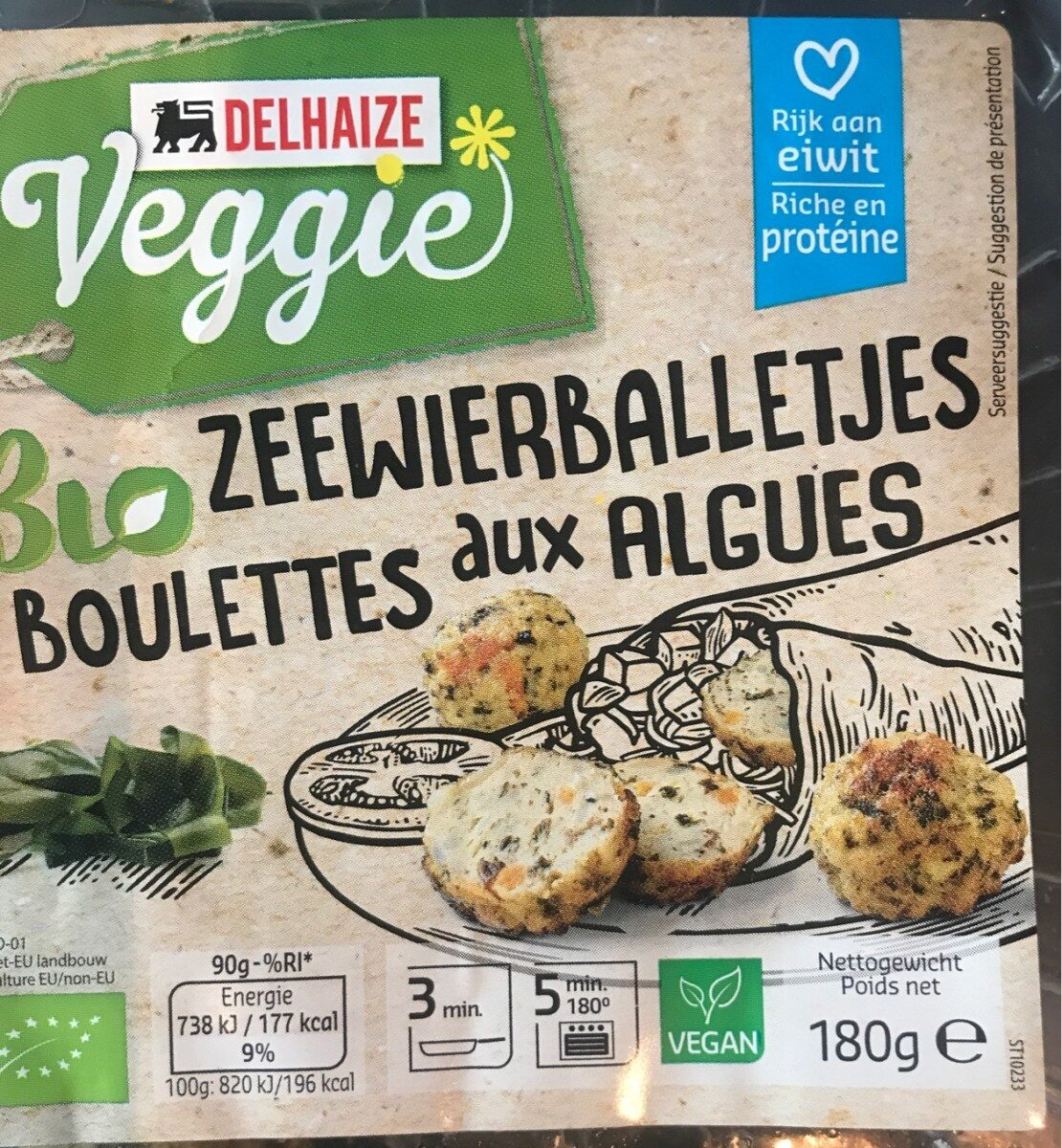 Boulettes aux algues - Product - fr