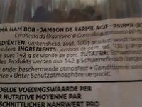 Jambon de parme - Ingrediënten - fr