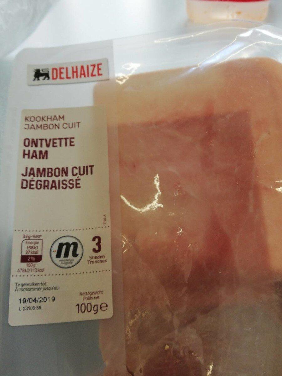 Jambon cuit dégraissé - Product - fr