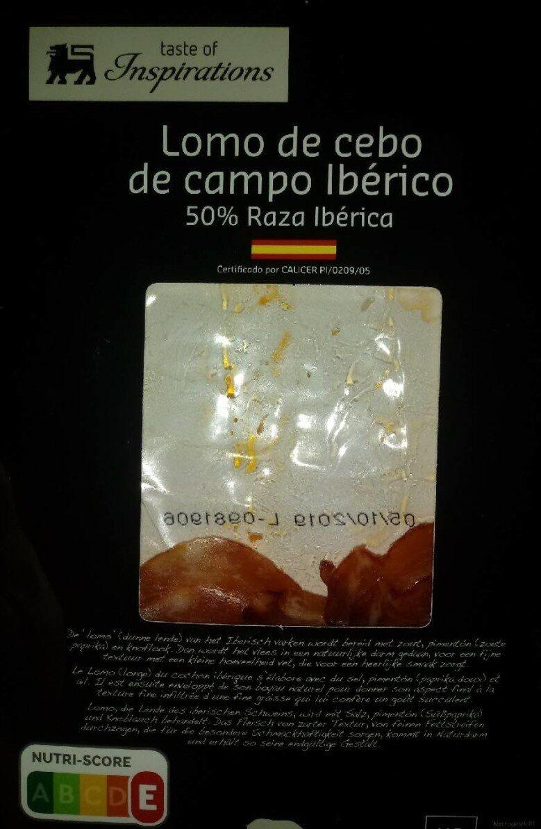 Lomo de cebo de campo Iberico - Product