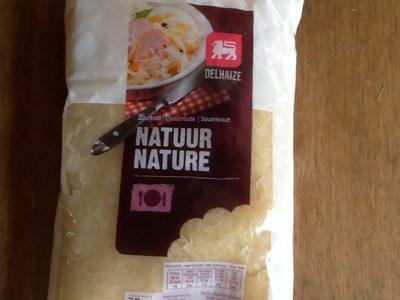 Choucroute natuur - Informations nutritionnelles - fr