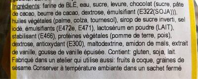 Lapin de Paques chocolat - Ingrediënten