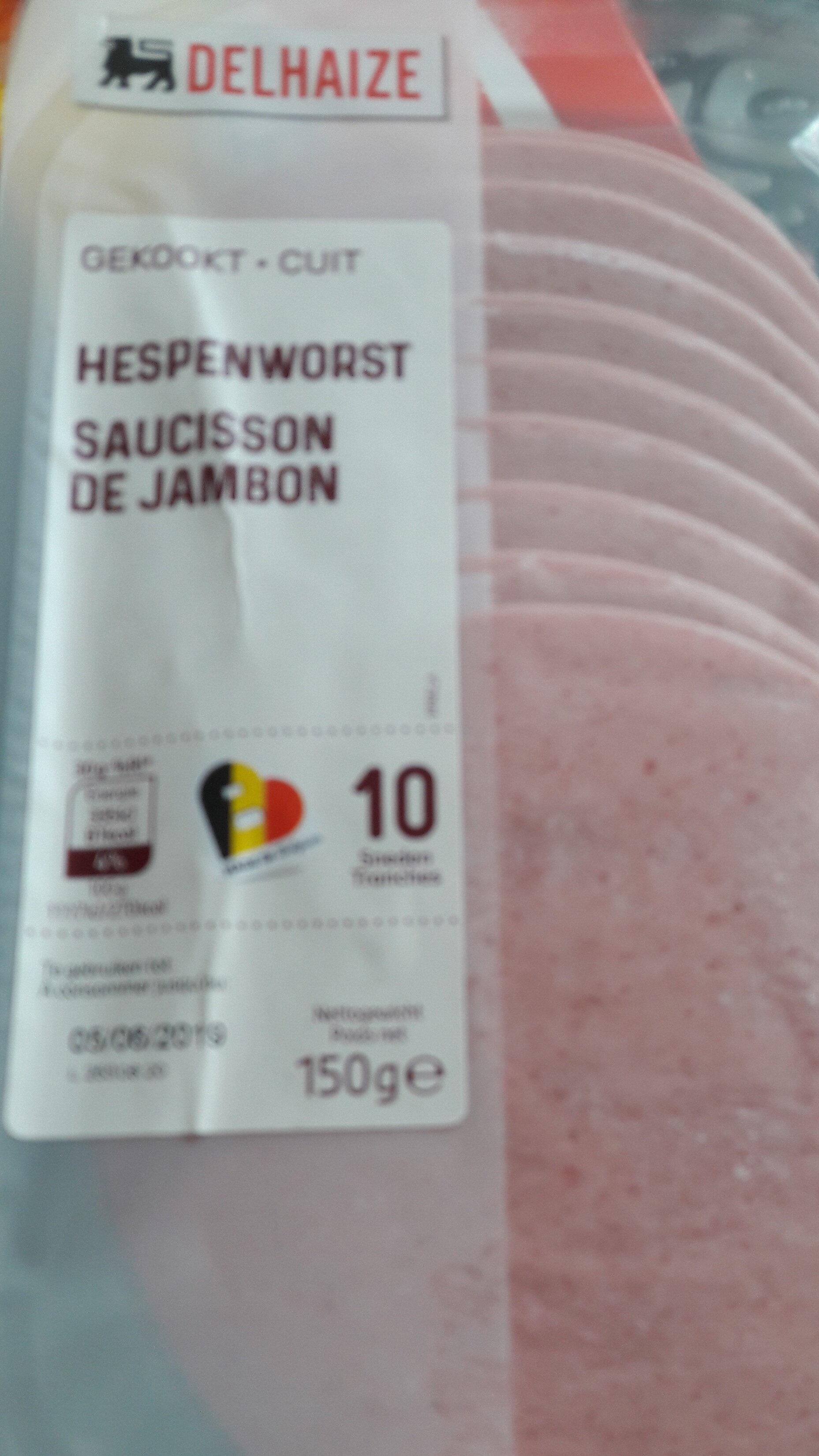Saucisson de jambon - Produit - fr