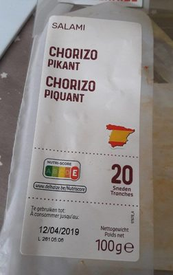 Chorizo piquant - Product - fr