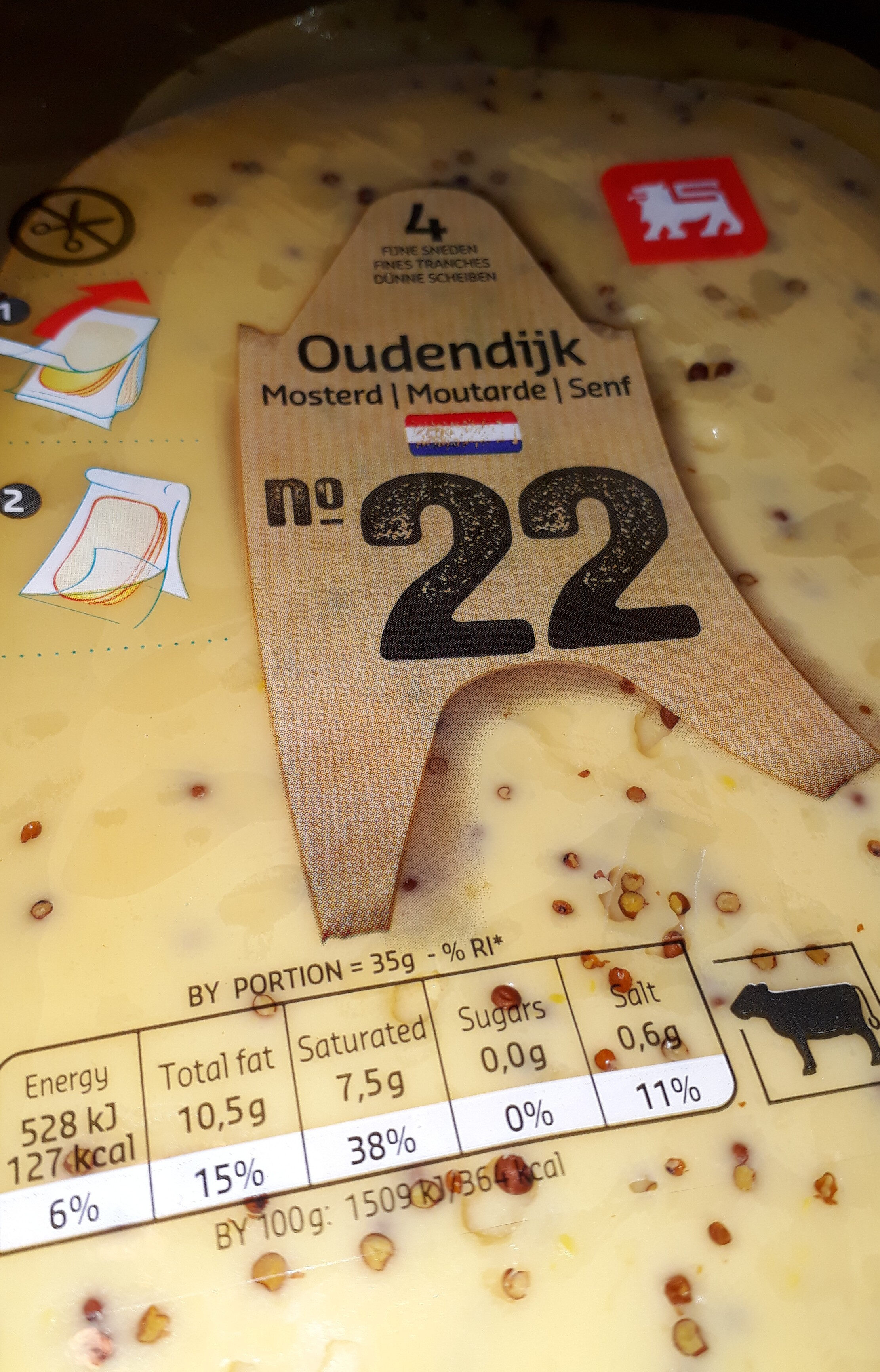 Oudendijk Moutarde - Produit - fr