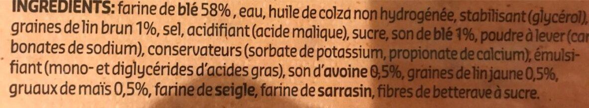 Wraps - Ingrediënten