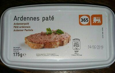 Ardennes Paté - Produit