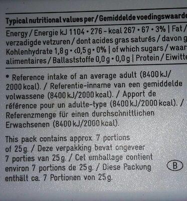 Ardennes Paté - Informations nutritionnelles - fr