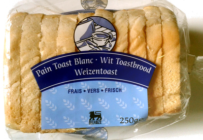 Pain toast blanc - Product - fr