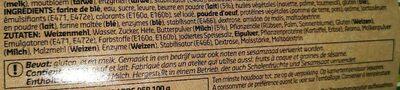 Mini sandwiches au beurre - Ingrédients - fr