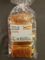Pains au chocolat (x 6) 270 g - 365 - Product