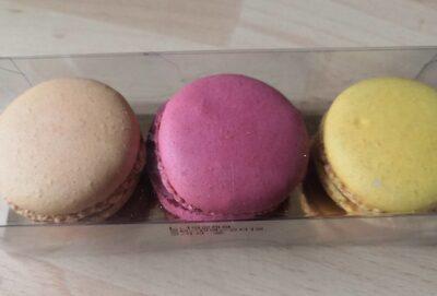 Trio macarons - Product - fr