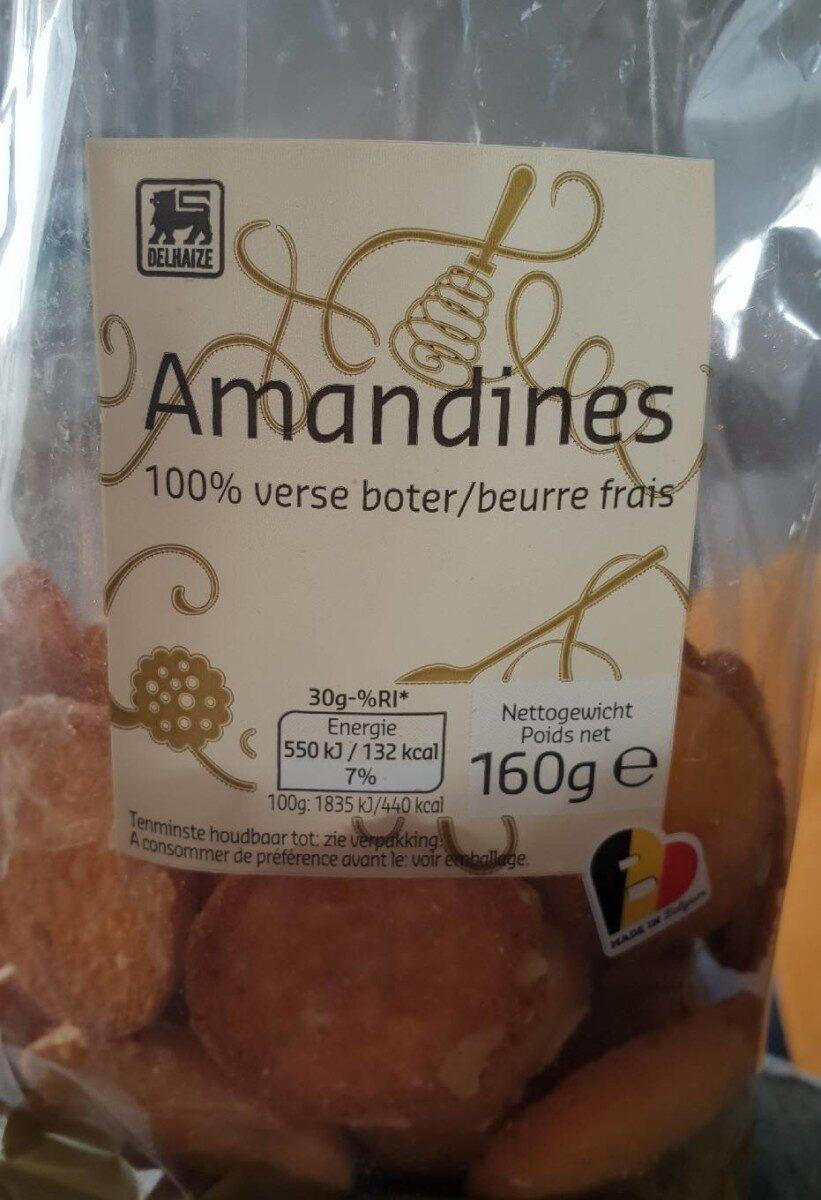 Amandines 100% beurre frais - Product